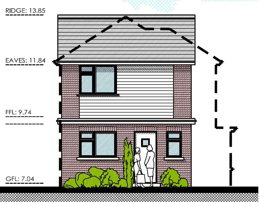 Front Elevation Uk : Petersham road regal homes uk